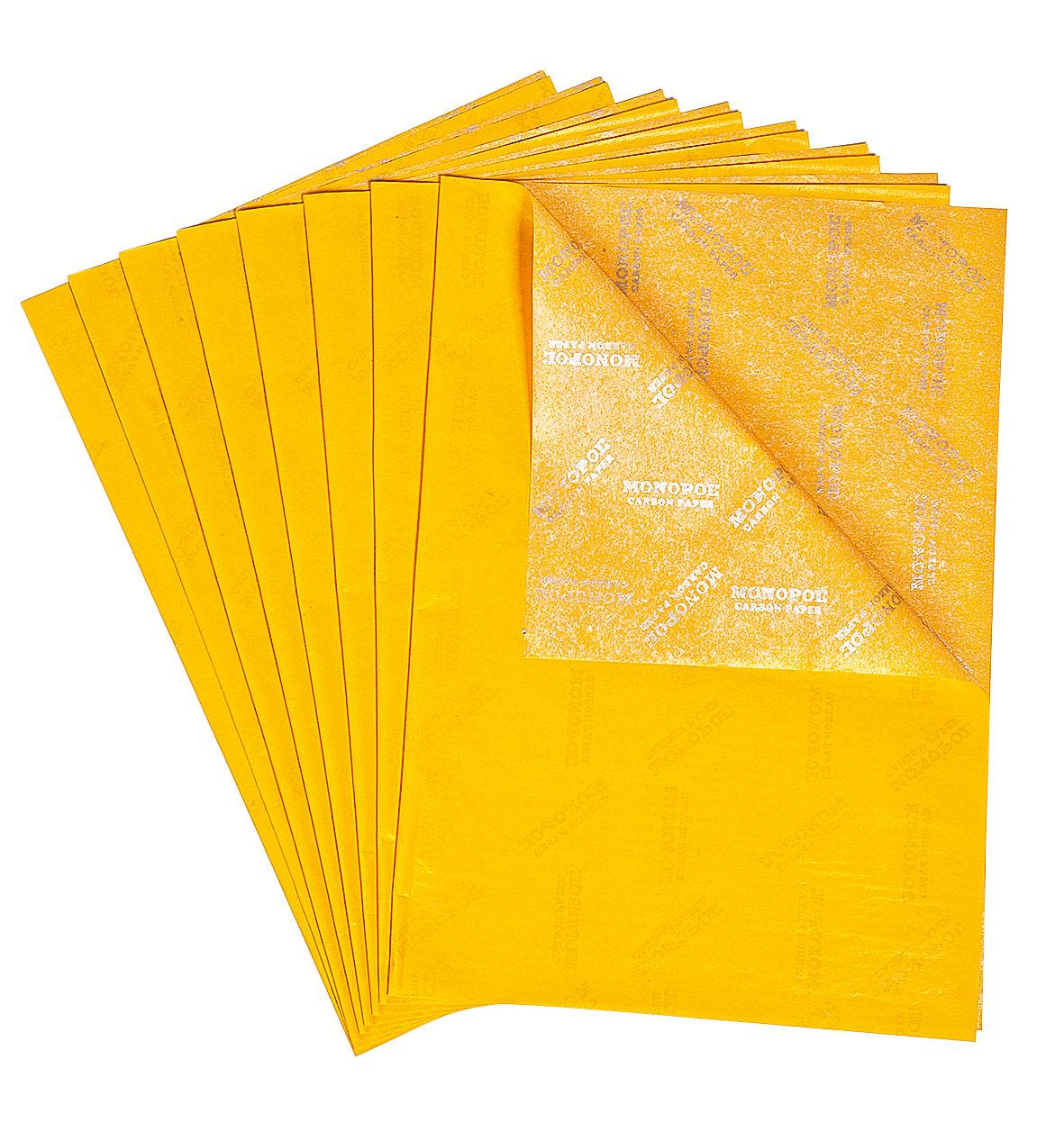 Durchschreibepapier, gelb | VBS Hobby Bastelshop