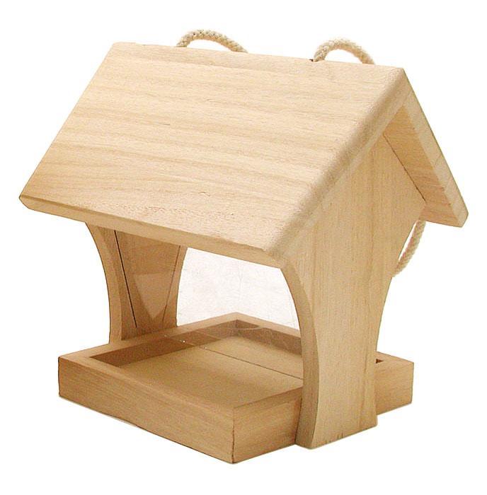 vbs vogel futterhaus holz vbs hobby bastelshop. Black Bedroom Furniture Sets. Home Design Ideas