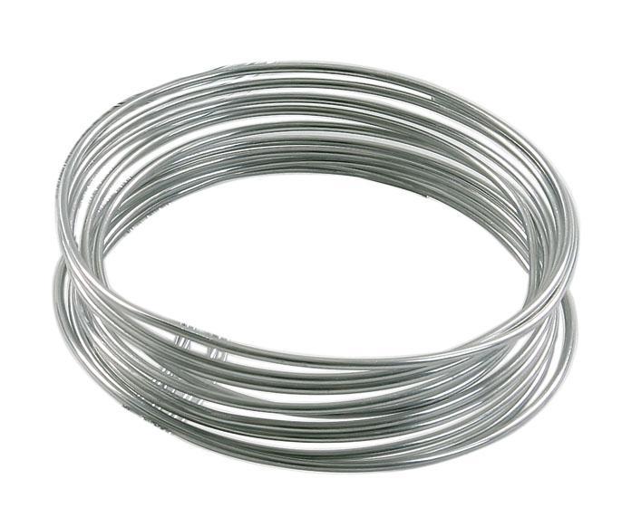 Alu draht 2 mm silber vbs hobby bastelshop for Silberdraht kaufen