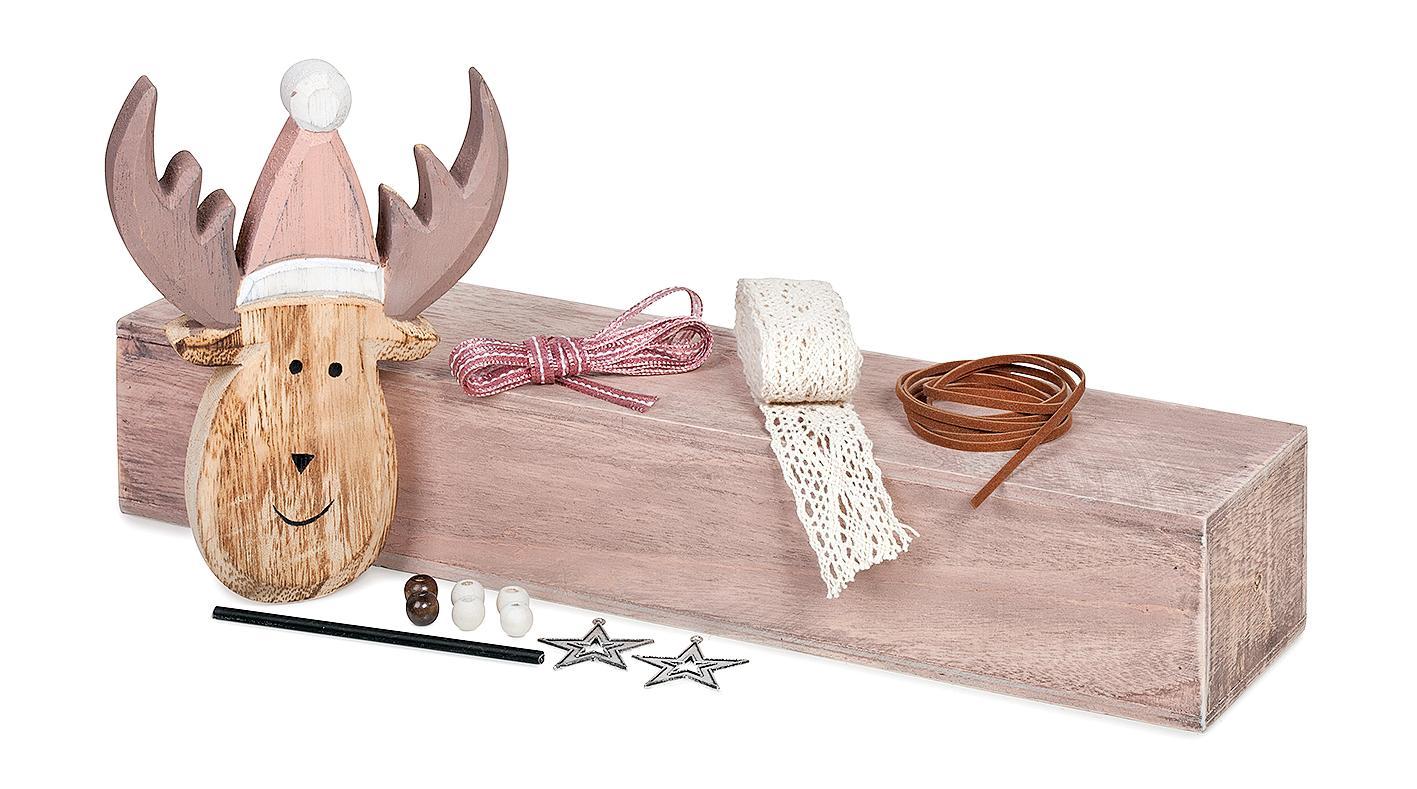 deko figur landhaus elch vbs hobby bastelshop. Black Bedroom Furniture Sets. Home Design Ideas