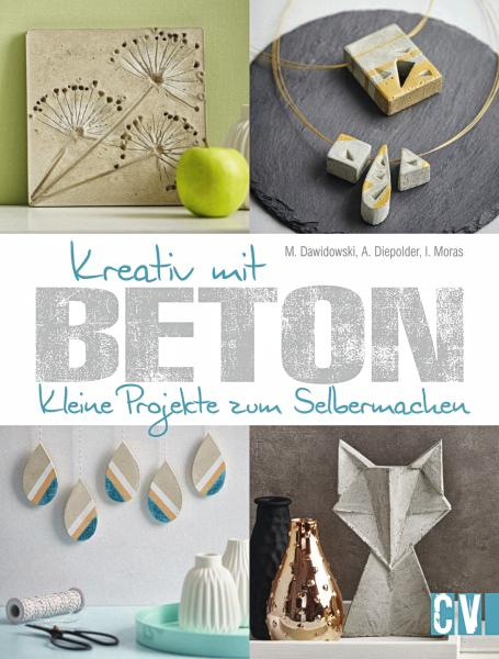 buch kreativ mit beton vbs hobby bastelshop. Black Bedroom Furniture Sets. Home Design Ideas