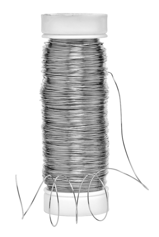 Silberdraht 0 3 mm 150 m vbs hobby bastelshop for Silberdraht kaufen