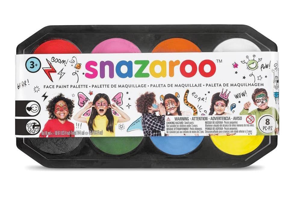 snazaroo Schminkpalette ´´Jumbo´´, 8 Farben