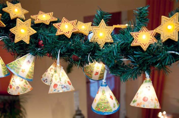 Weihnachtliche ideen mit lichterketten vbs hobby bastelshop for Lichterketten ideen