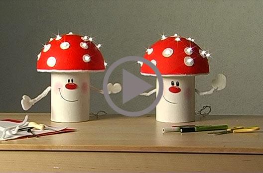 leuchtender pilz vbs hobby bastelshop. Black Bedroom Furniture Sets. Home Design Ideas