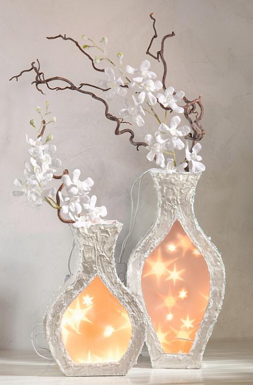 deko vasen mit sternenfolie bastelshop und hobby vbs bastelbedarf. Black Bedroom Furniture Sets. Home Design Ideas