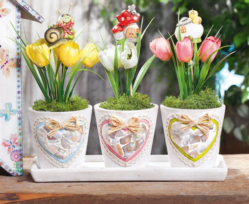 Blumentopf Mosaik Vbs Hobby Bastelshop