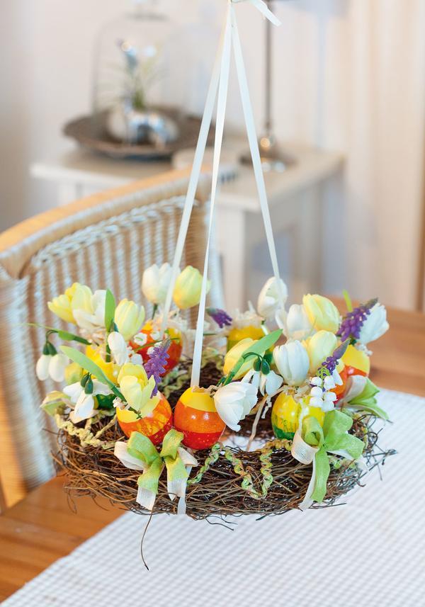 anleitung f r marmorierte eier vasen im oster h ngekranz bastelshop und hobby vbs bastelbedarf. Black Bedroom Furniture Sets. Home Design Ideas