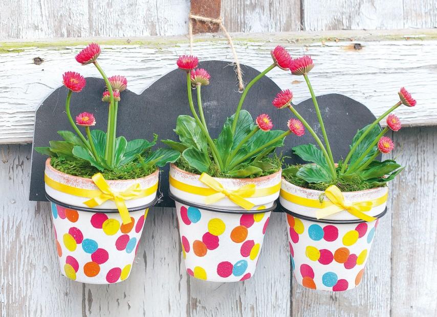 Anleitung Bunte Blumentopfe Aus Terrakotta Vbs Hobby Bastelshop