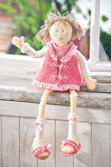 Mamsell Puppe Lilly Mit Filzkleid Vbs Hobby Bastelshop