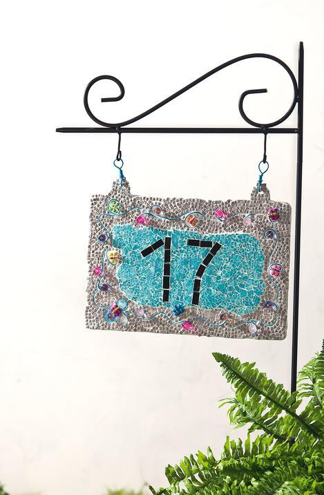Hausnummer Selber Machen hausnummer im mosaik-design | vbs hobby bastelshop