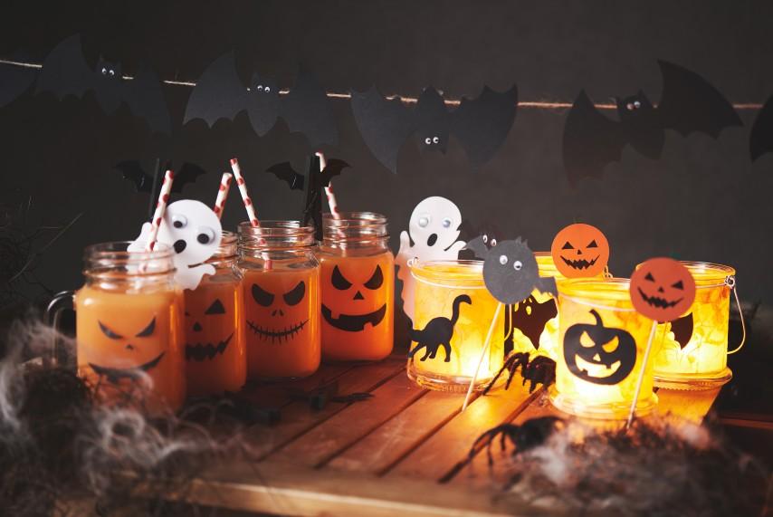 schaurige halloween deko