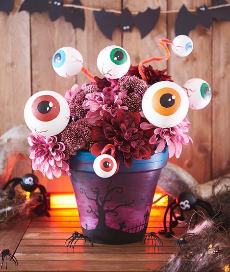 Halloween Deko Gruselige Styroporaugen Vbs Hobby Bastelshop