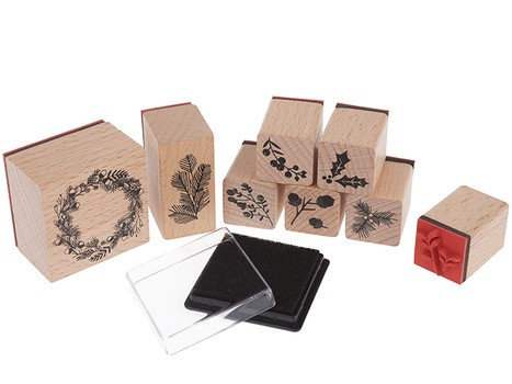 "Stempel-Set ""Classical Christmas"""