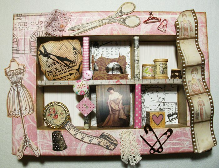 Utes kreative Collage - Scrapbooking mal anders