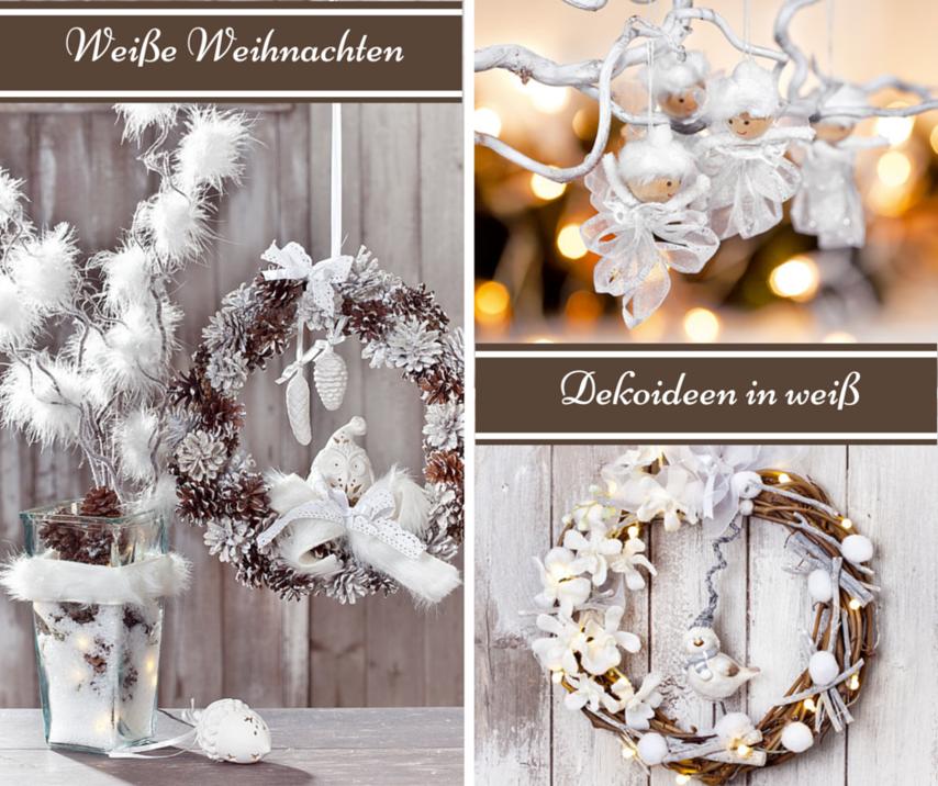 Weiße Weihnachten Deko Trend VBS Hobby
