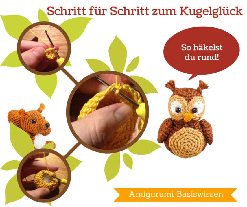 amigurumi kugel h keln vbs hobby. Black Bedroom Furniture Sets. Home Design Ideas
