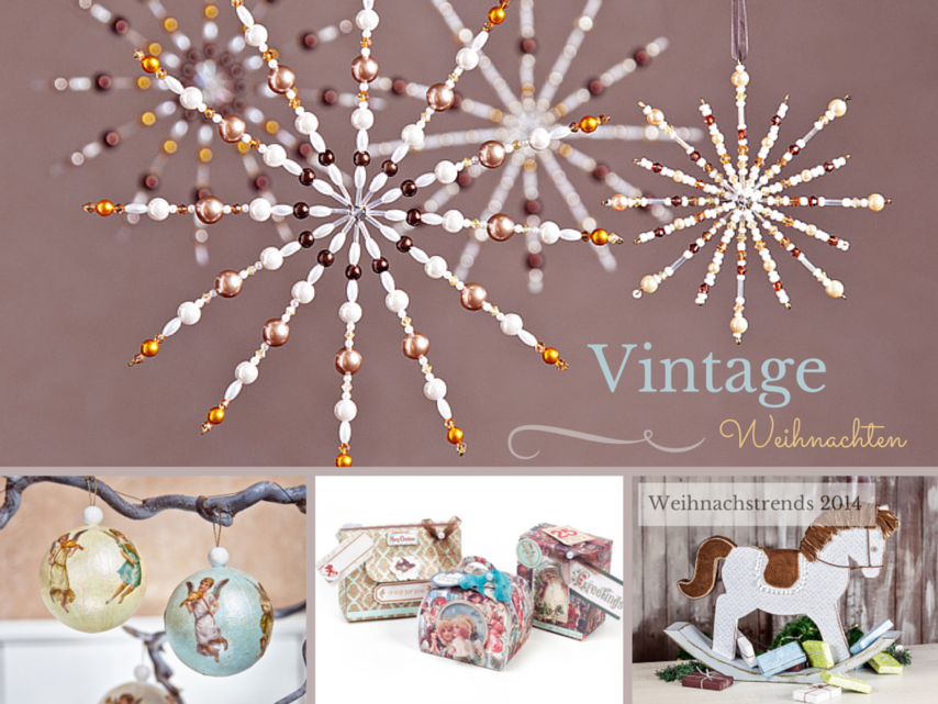 vintage weihnachten vbs hobby. Black Bedroom Furniture Sets. Home Design Ideas