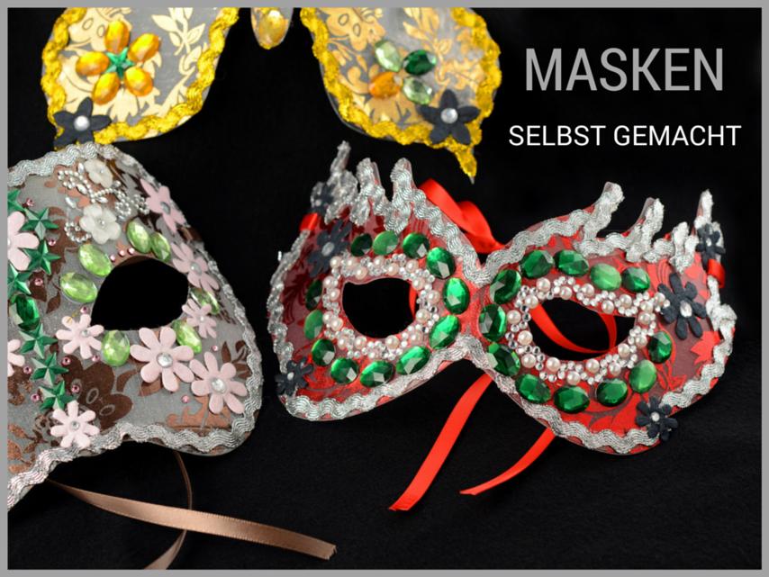 Masken Basteln Maskenvorlagen Pdf Drucken 4 7