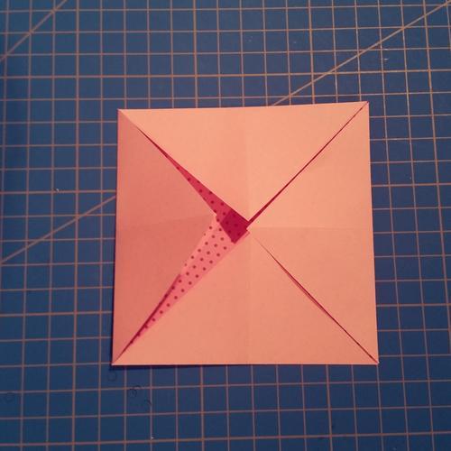 anleitung origami herz mit fach falten vbs hobby. Black Bedroom Furniture Sets. Home Design Ideas