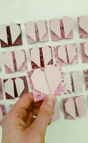 Bekannt Anleitung Origami Herz mit Fach falten VBS Hobby FE04