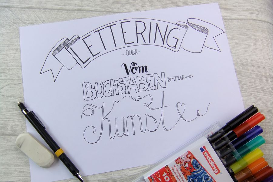 Hand Lettering - Tutorial