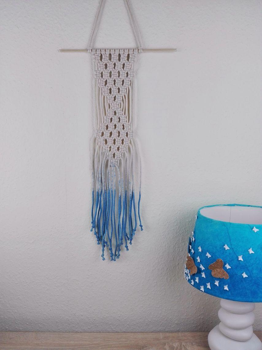 makramee wandbehang selber machen anleitung vbs hobby. Black Bedroom Furniture Sets. Home Design Ideas