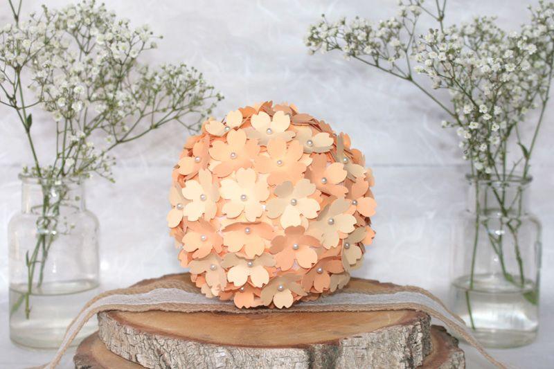 Anleitung Hochzeitsdeko Blumenkugel Als Tischdekoration Vbs Hobby