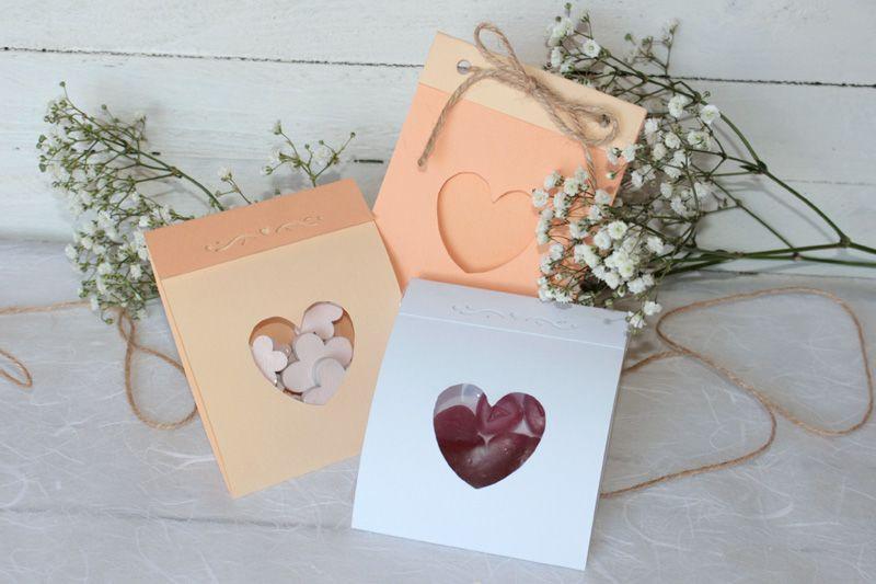 Gut bekannt DIY: Verpackung für Gastgeschenke mit Vorlage VBS Hobby EQ14