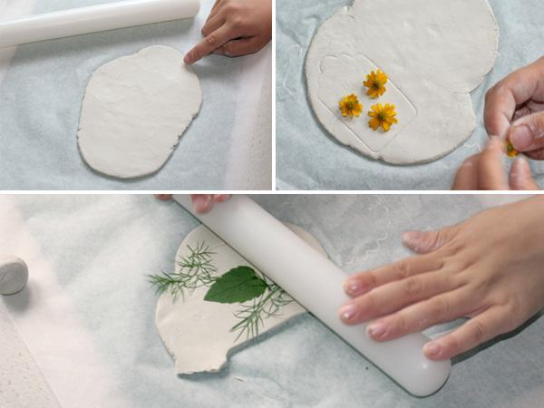 Diy Tonanhänger Mit Echten Blumen Vbs Hobby
