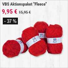 "VBS Aktionspaket ""Fleece"""
