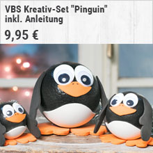 "VBS Kreativ-Set ""Pinguin"""