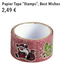 "Papier Tape ""Stamps"""
