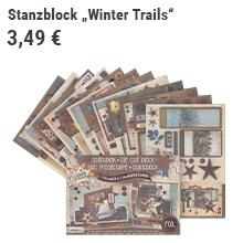 "Stanzblock ""Winter Trails"""