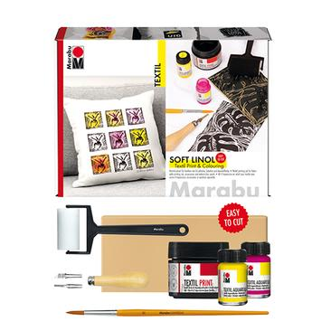 Marabu Soft Linol Printing & Colouring-Set
