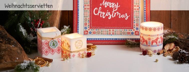 servietten f r weihnachten online kaufen. Black Bedroom Furniture Sets. Home Design Ideas