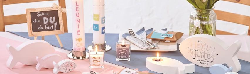 Kommunion Konfirmation Karten Kerzen Dekoration Kaufen