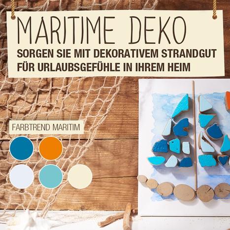 Stoff Meterware Baumwolle türkis Segelboot Fischerboot Meer maritim orange Neu