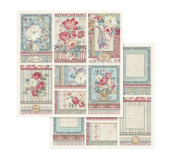 "Scrapbook-Block ""Grand Hotel"""