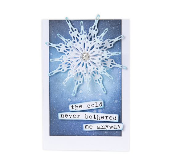 "Sizzix Thinlits Stanzschablone ""Fanciful Snowflakes by Tim Holtz"""