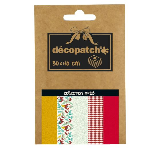 "Décopatch Pocket ""Collection No.23"""