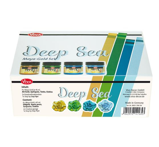 "Viva Decor Maya Gold Set ""Deep Sea"""