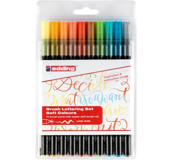"edding 1340 ""Brush Lettering"", 10er-Set"