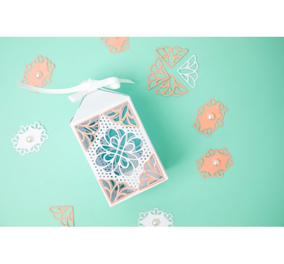 "Sizzix Thinlits Stanzschablone ""Elegant Favor Box"""