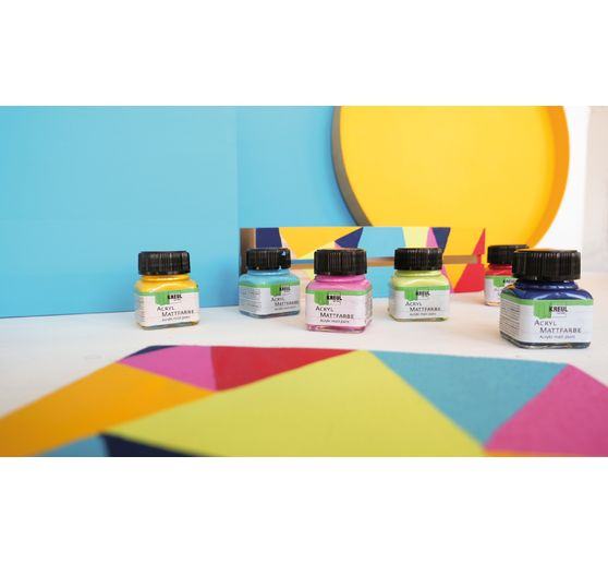 "KREUL Acryl Mattfarben-Set ""Color Living"""