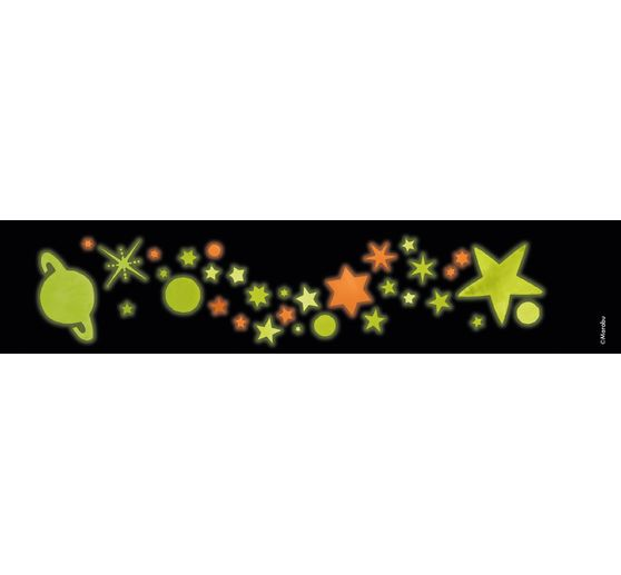"Marabu GLOW IN THE DARK-Set ""STARS"""