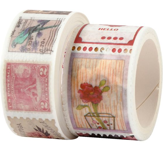 "Washi Tape ""Briefmarken"""