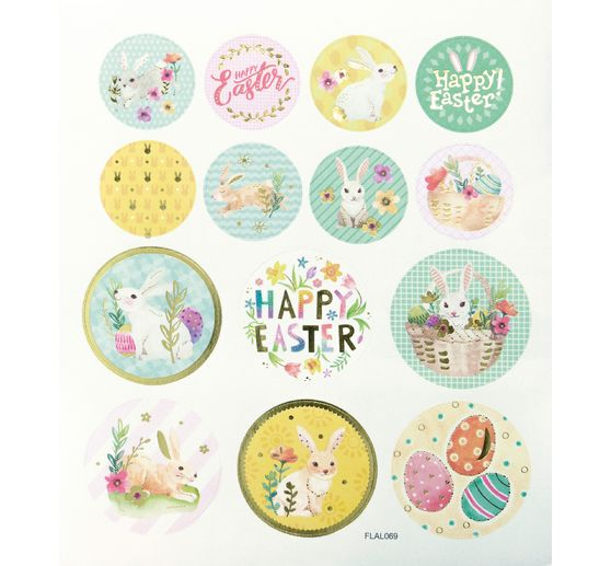 "Sticker ""Happy Easter"""