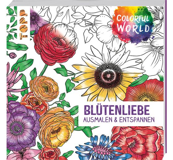 "Buch ""Colorful World - Blütenliebe"""