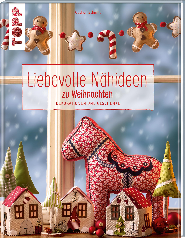 Fingerfarbe Weihnachten.Buch Liebevolle Nähideen Zu Weihnachten Vbs Hobby Bastelshop
